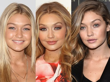 The beauty evolution of Gigi Hadid is MAGICAL