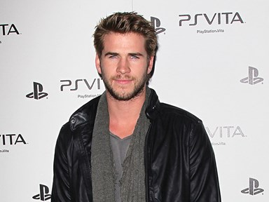 "Please enjoy watching Liam Hemsworth strip off for ""The Dressmaker"""