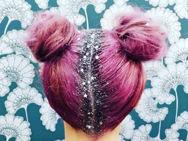 Glitter roots are about to become your new favourite hair trend