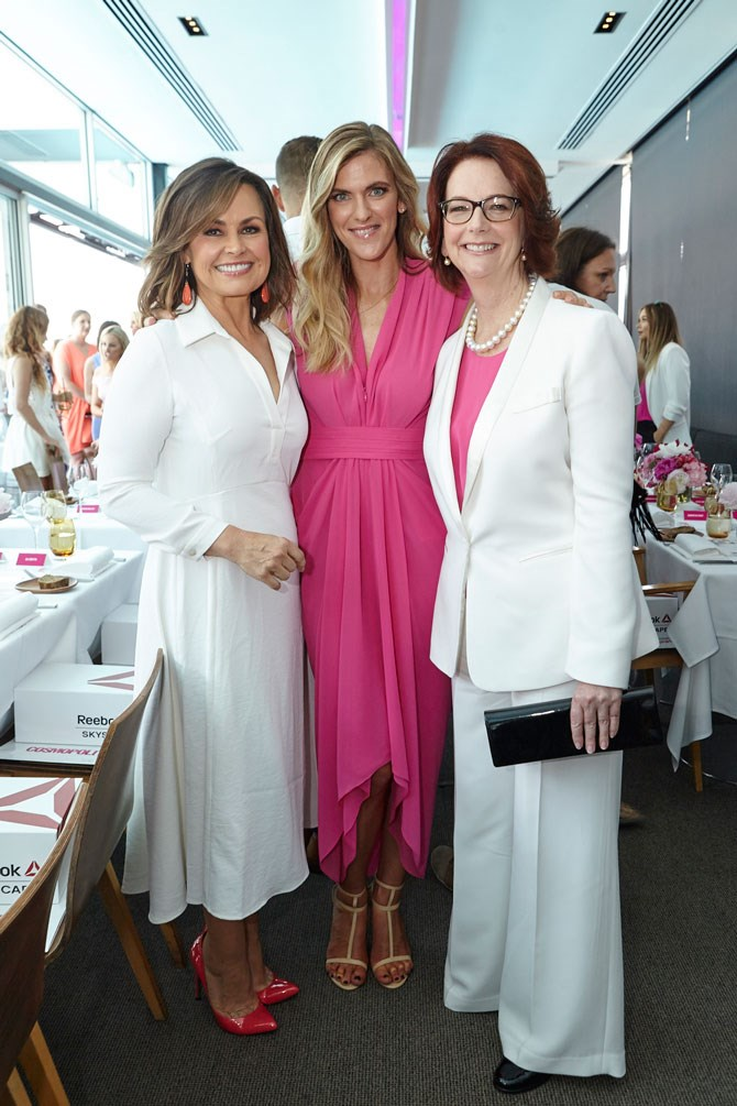 Talk about a powerhouse-trio! Lisa Wilkinson, Bronwyn McCahon and Julia Gillard all looked incredible AND spoke incredibly.