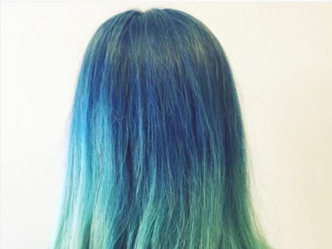 TREND ALERT: mermaid hair