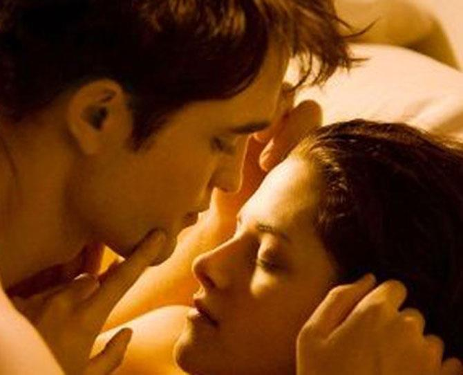 ***Twilight*** <br><br> Yes, it was pretty cheesy. But they broke the bed! There's a reason *Fifty Shades of Grey* started its life as *Twilight* fan fiction.