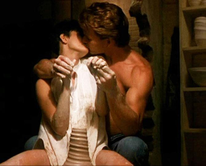 ***Ghost*** <br><br> Yeah, we're back on Swayze. If his pottery wheel skills are any indication, he's quite the talent in the bedroom.