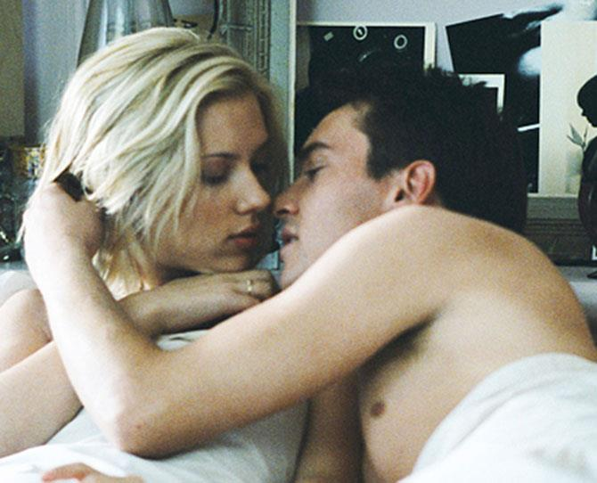 ***Match Point*** <br><br> Jonathan Rhys Meyers and Scarlett Johansson are both maniacs in this movie, but there's something about their forbidden, highly-charged, apartment-ruining sex that works.