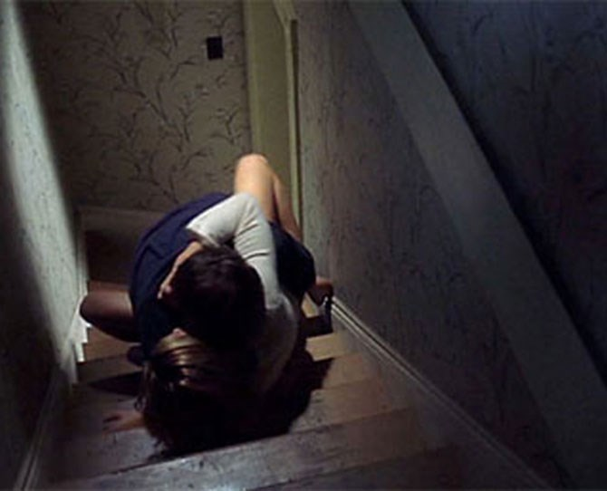 ***A Histroy Of Voilence***  <br><br> Viggo Mortensen and Maria Bello on a staircase begs the question: Has there ever been more FERVENT cinematic sex?