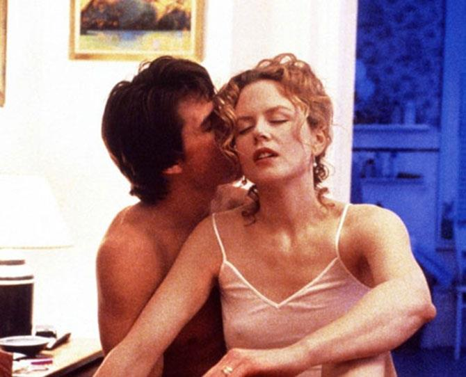 ***Eyes Wide Shut*** <br><br> This incredibly mind-bending movie starring former married couple Tom Cruise and Nicole Kidman feels like one, long erotic daydream.