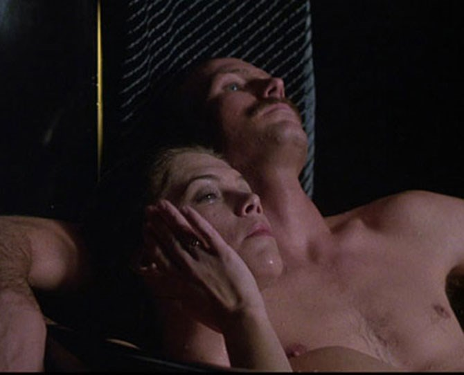 ***Body Heat*** <br><br> This 1981 classic is one for the sex scene hall of fame with its steamy, sweaty, Floridian love scenes between Kathleen Turner and William Hurt.