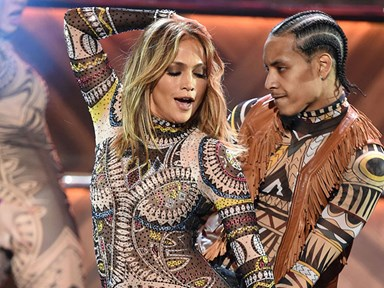 See every outfit J.Lo wore at the 2015 American Music Awards