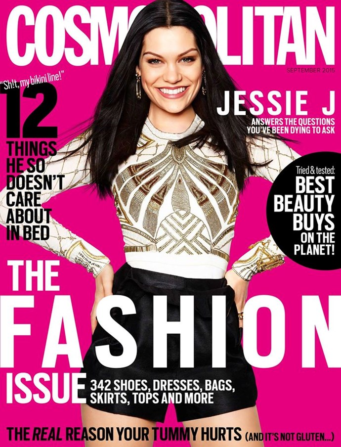 **SEPTEMBER: Jessie J** Australia fell in love with Jessie on *The Voice,* and we like to give the people what they want.