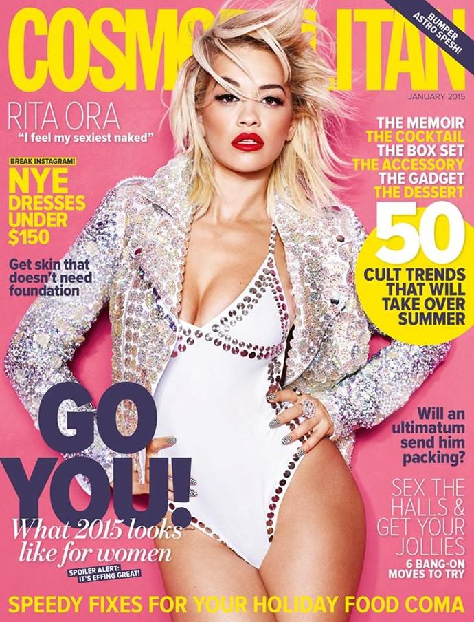 **JANUARY: Rita Ora** #windsweptgoals