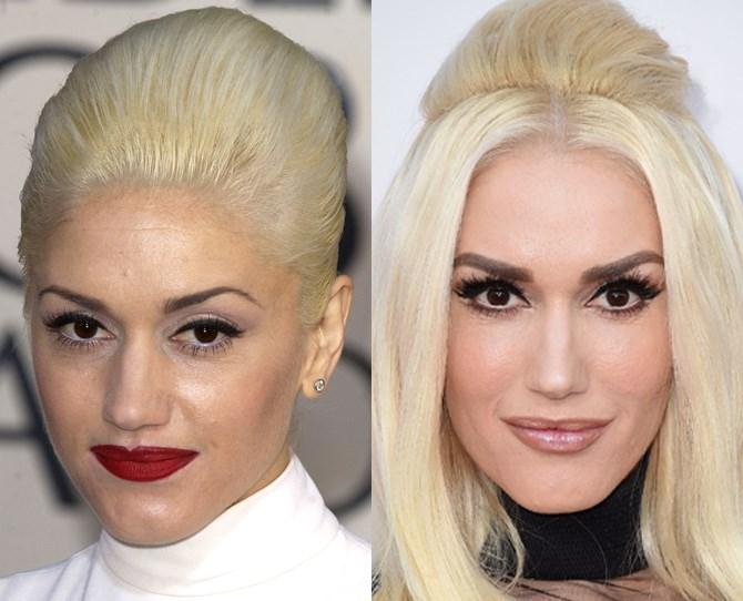 **Gwen Stefani** <br>  2004 vs. now