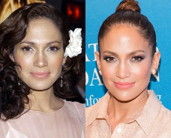 **Jennifer Lopez **  <br> 2002 vs. now