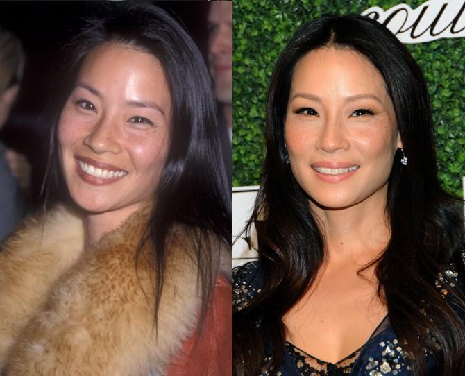 **Lucy Liu**  <br> 1999 vs. now