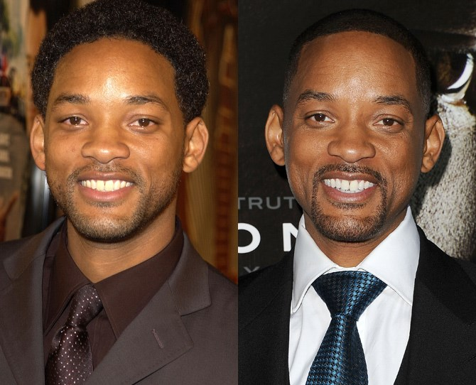 **Will Smith**  <br> 2002 vs. now
