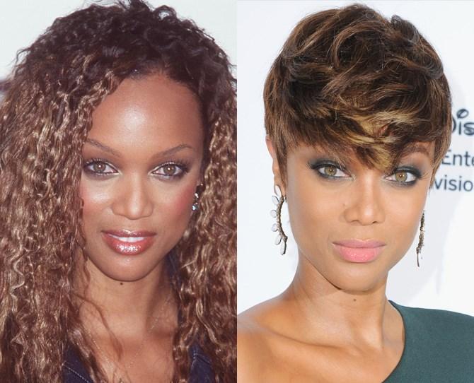 **Tyra Banks**  <br> 1998 vs. now