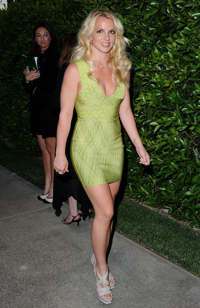 By 2011 Britney's bod was banging, her hair was flowing and the body con dresses were strutting.