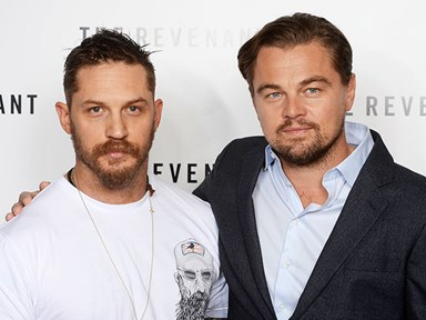 Leonardo DiCaprio and Tom Hardy set our ovaries on fire at BAFTA screening