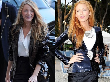 28 times Blake Lively dressed like Serena van der Woodsen in real life