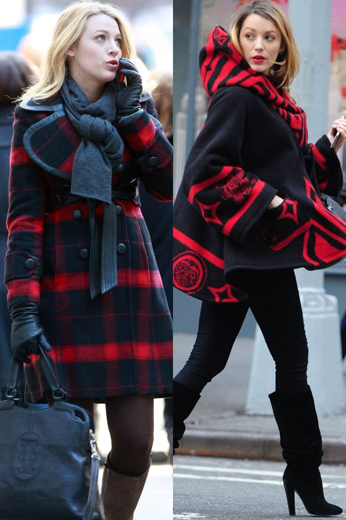 Black and red cloak twins