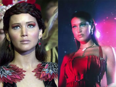 Seriously though, has anyone seen Bella Hadid and Jennifer Lawrence in the same room together?