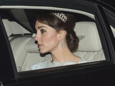 Kate Middleton wore Princess Diana's tiara, partied with men in heels