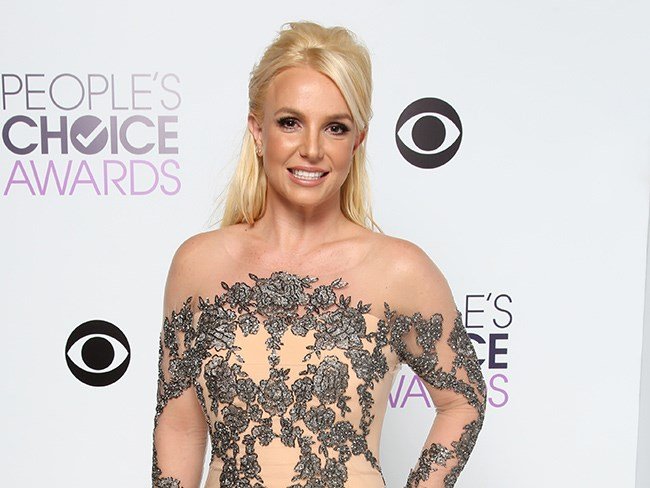 Britnery Spears has posted a badass abs pi