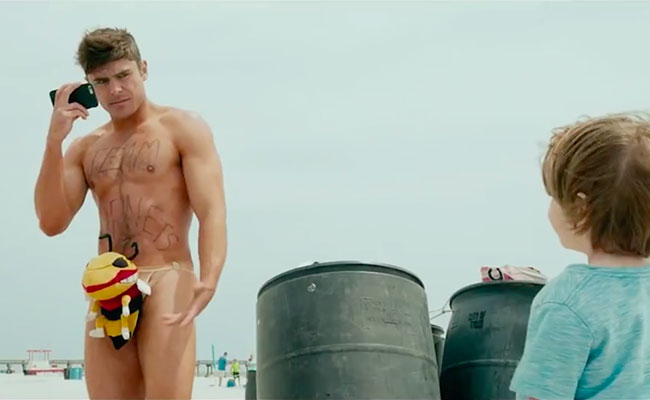 Zac Efron Gets Naked 30