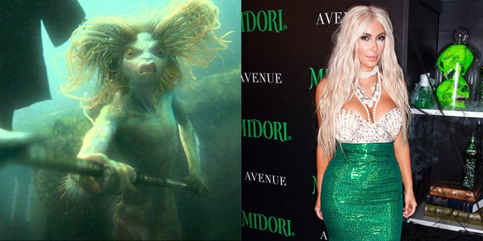 **A Merperson in the Great Lake**