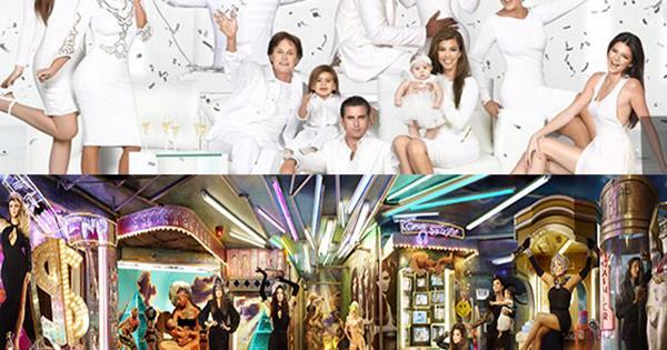 the 2015 kardashian christmas card is kids only cosmopolitan australia - Kardashian Christmas Card