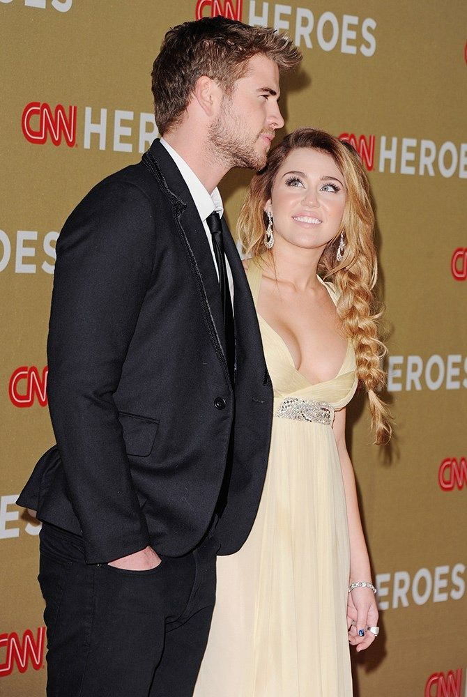 Those deep stares <3 on the CNN Heroes red carpet in 2011.