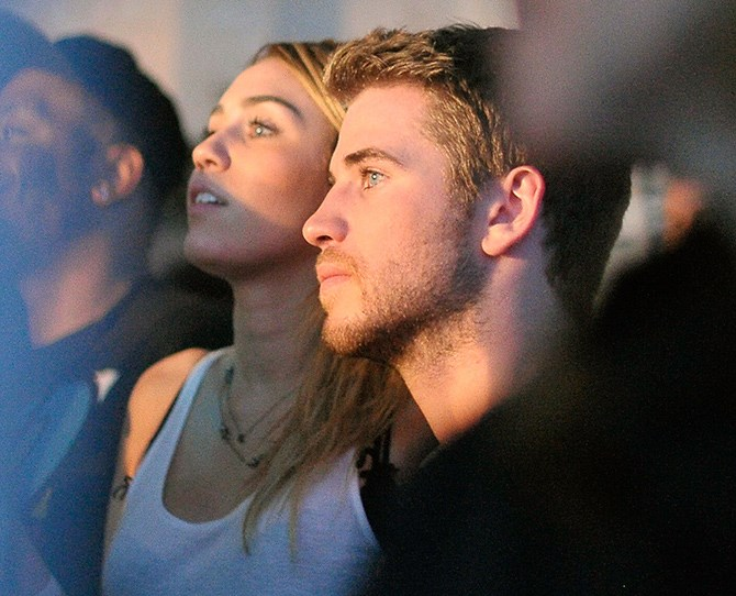 Here's that time they both got caught up in Drake's set and looked *so* into it. (*See*. Same interests).