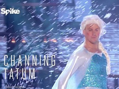 Channing Tatum lip syncing 'Let It Go' will banish your January blues