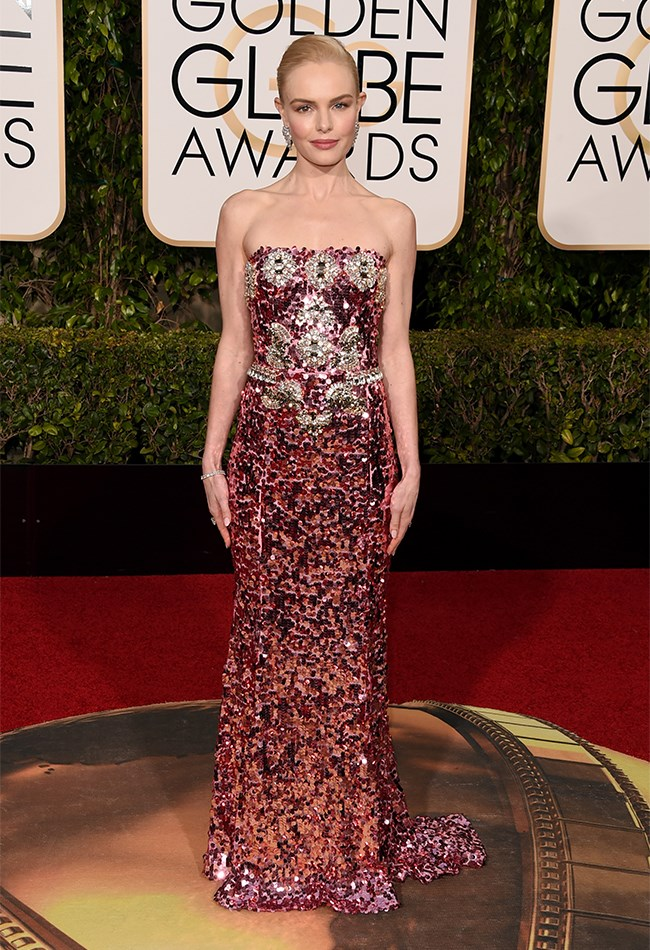Kate Bosworth is BREATHTAKING (as per usual) in this glitzy Dolce and Gabbana gown.