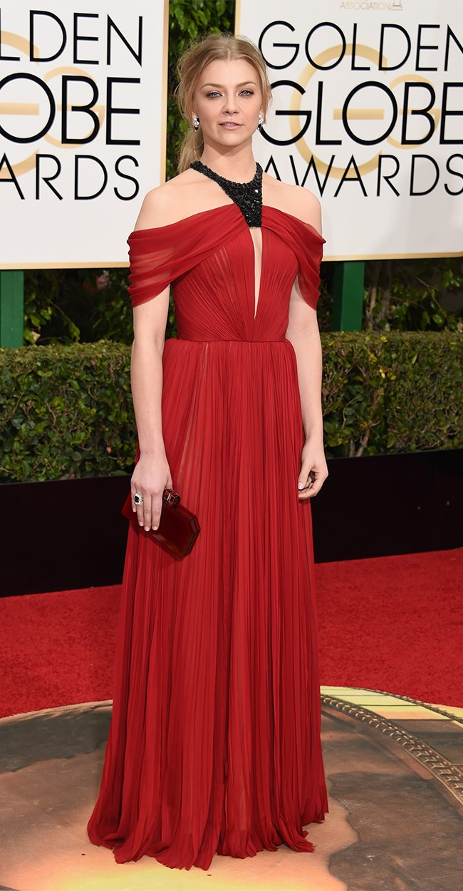 Natalie Dormer shows us exactly how you should wear red on a red carpet.