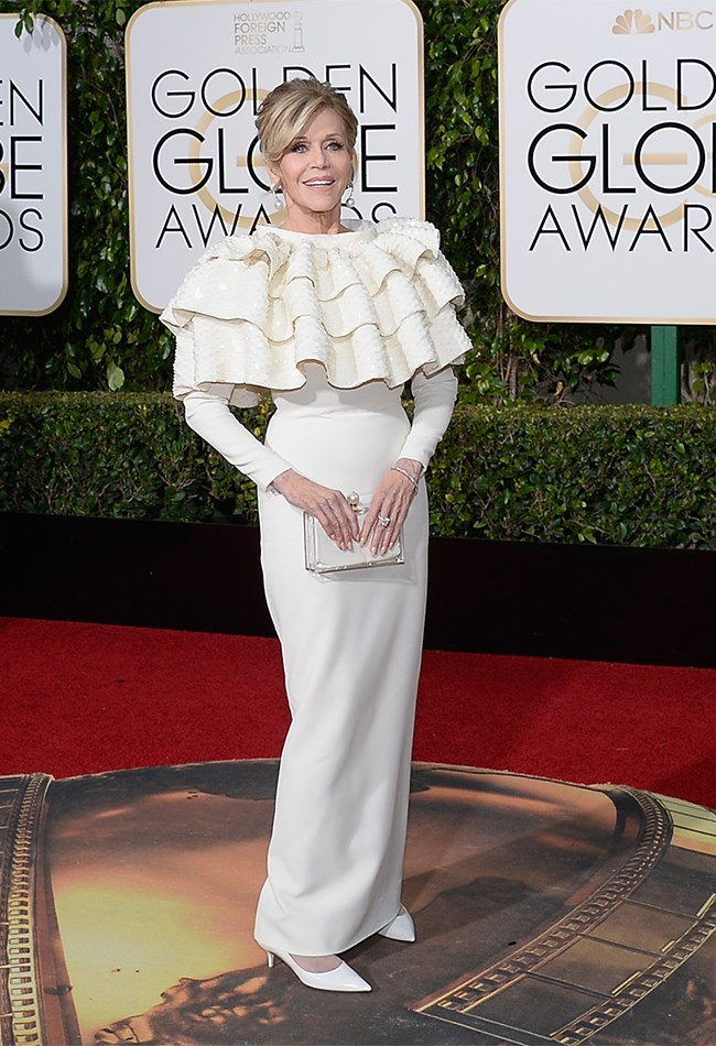 Oh, Jane Fonda. You really are fabulous, even when you're ridiculous.