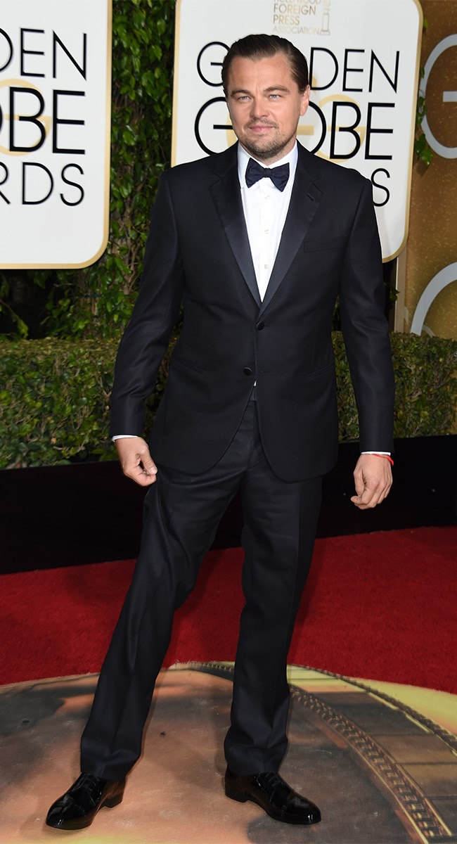 Leonardo DiCaprio could wear a garbage bag and we'd still pay attention.