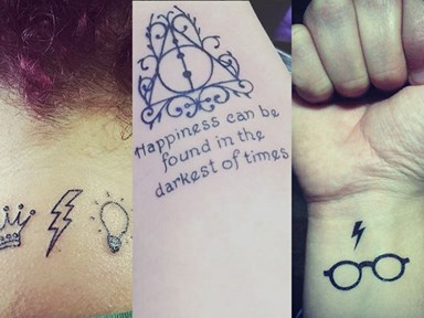 20 magical Harry Potter inspired tattoos