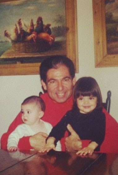 "Robert Kardashian with Kylie and Kendall, [as shared by Khloé](https://instagram.com/p/kFq-onBRq4/|target=""_blank"")."