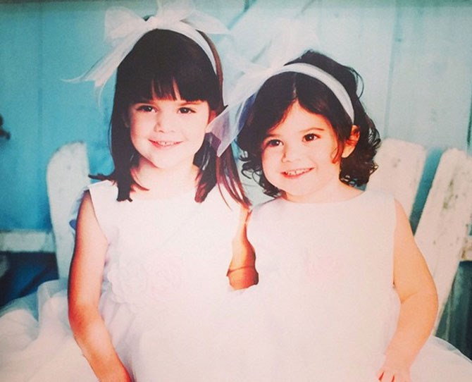 "Kendall and Kylie, [as shared by Kris](https://instagram.com/p/u8hqnTG-Eh/|target=""_blank"")."