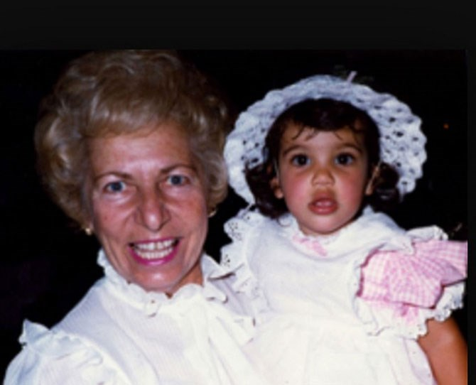 "And Kim with her paternal grandmother, also [as shared by Kris](https://instagram.com/p/za8nzEm-Dt/|target=""_blank"")."