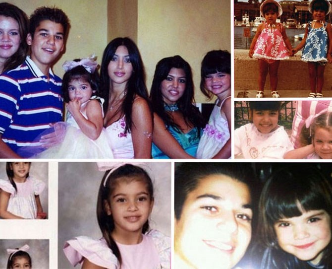 Thanks to the family's exhaustive social media presence and their collective tendency to share a *lot* of old-school family photos, we've rounded up the best throwbacks out there — sassy faces, awkward phases, and all. Remember: Before they were *the* Kardashians, they were just the Kardashians.