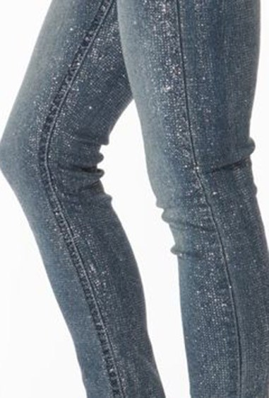 **38. Glitter jeans **    No party or disco was complete without these.