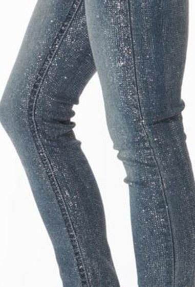 **38. Glitter jeans**  No party or disco was complete without these.