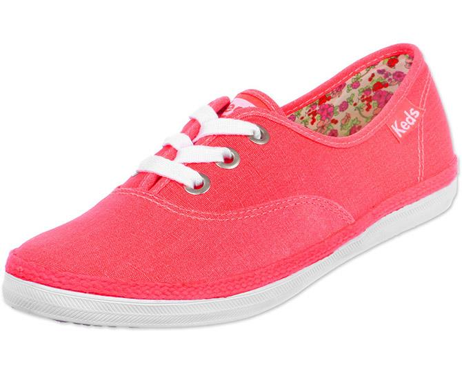 **Keds Sneakers** <br><br> The VANS of the early '00s, Keds were the must-have sneaker that every teenager wore outside the P.E. classroom. As we all dreamed of owning Marissa Cooper's wardrobe, a pair of colourful Keds was the closest we'd ever get.