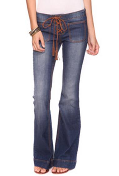 **15. Lace-up jeans**  In hindsight, these looked a *little* suggestive for our 12 yr old selves, but we didn't care - Britney wore them and that's all that mattered.