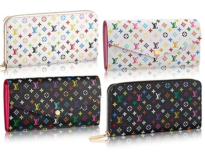 **8. Louis Vuitton rainbow monogram accessories**   We loved this print for YEARS. Even if they were fakes.