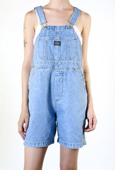 **19. Denim overalls**  And if you were super cool, you'd always leave one stap just hangin' open.