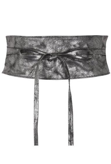 **Wrap Waist Belts** <br><br> While they may have lacked functionality, being seen with one of these, could skyrocket you up the social chain. Typically sold at Supré, these belts looked best when tied over a white t-shirt with a frilled mini skirt and sequin sandals.
