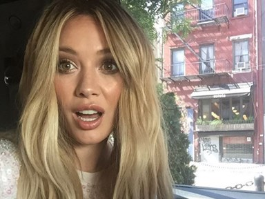 Hilary Duff's hair is now the most magical colour EVER