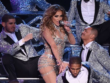 Here are 15 very important images of JLo's Vegas show outfits
